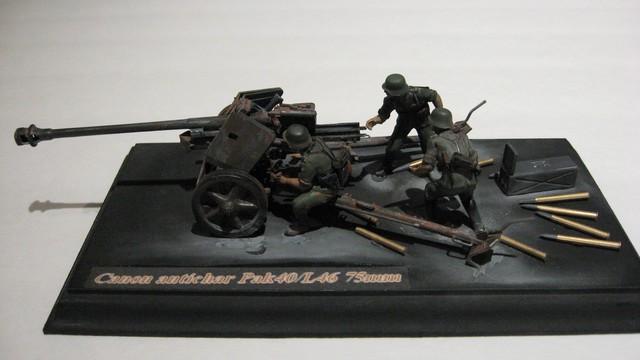 Canon antichar allemand PAK40/L46 - Tamiya No 35047 - 1/35 11_zpsd46e4f6a