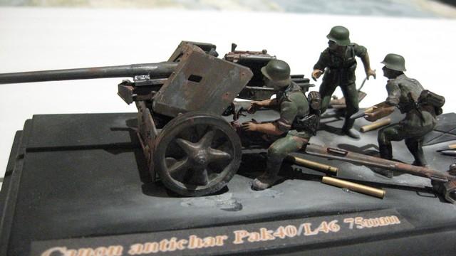 Canon antichar allemand PAK40/L46 - Tamiya No 35047 - 1/35 12_zpse622c235