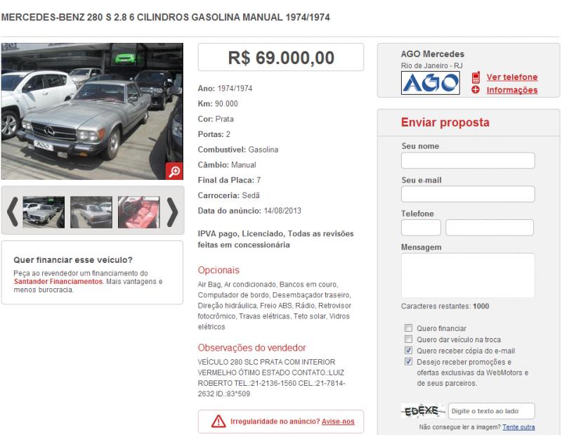 C107 280SLC 1974 - R$ 69.000,00 280SLC-AGO_zps241bb09d