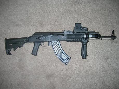 اكبر و اوثق موسوعة للجيش العراقي على الانترنت AK-47