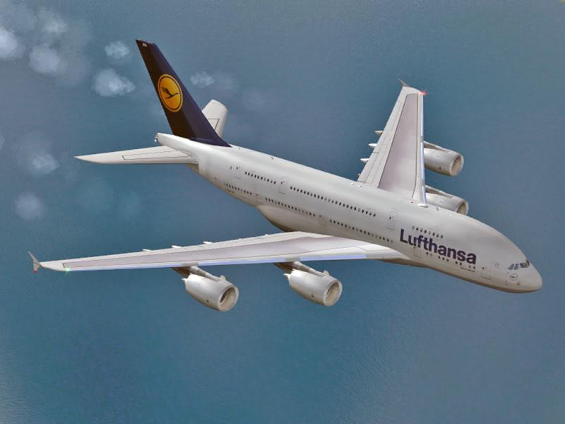 Nas asas da Virtual Varig Brasil A380