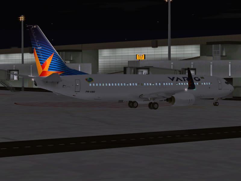 [VV World Tour'11] RPLL-WIII com o 737-800 Varig PERNA181