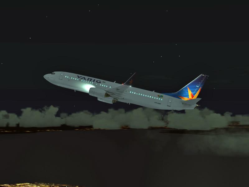 [VV World Tour'11] RPLL-WIII com o 737-800 Varig PERNA183
