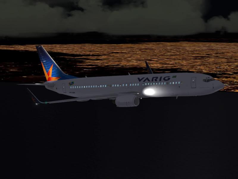 [VV World Tour'11] RPLL-WIII com o 737-800 Varig PERNA186