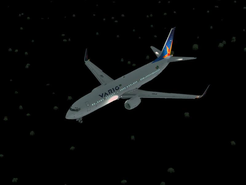 [VV World Tour'11] RPLL-WIII com o 737-800 Varig PERNA187
