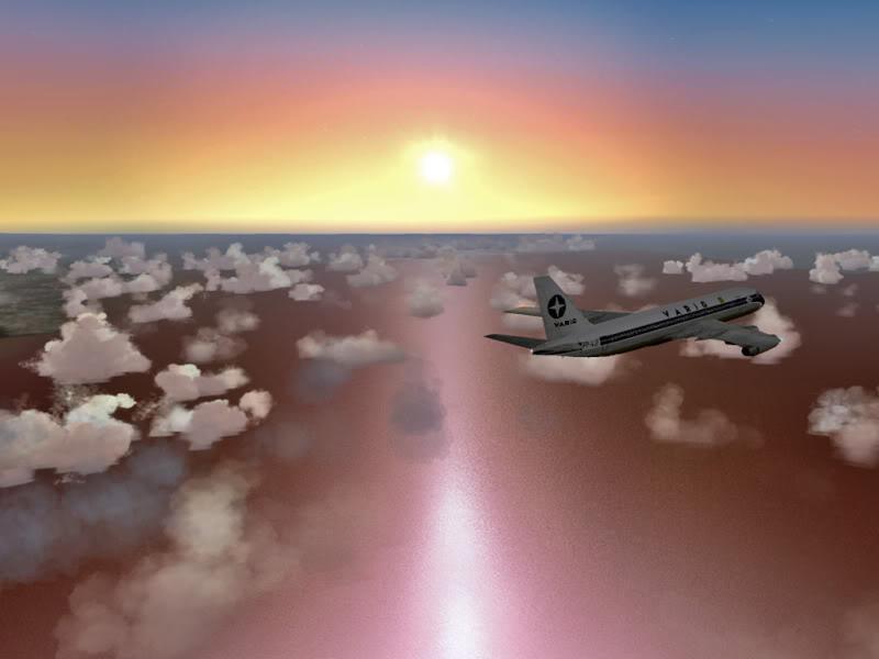 [VV World Tour'11] WIII-YPPH no Convair 990A PERNA197