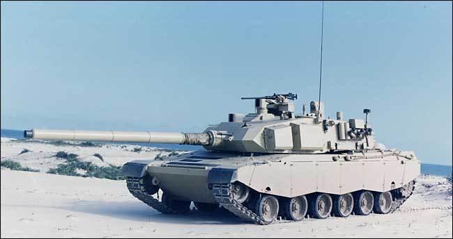 الدبابة البرازيلية EE-T1 Osorio Osorio-MBT