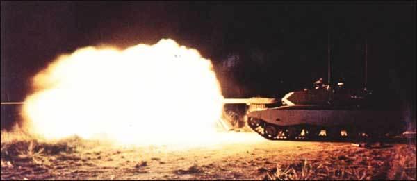 الدبابة البرازيلية EE-T1 Osorio Osorio-Nightfiring