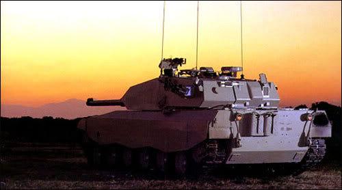 الدبابة البرازيلية EE-T1 Osorio Osorio-Sunset