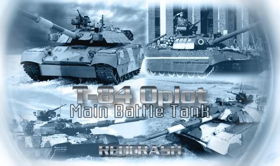 دبابة القتال الرئيسية T-80 الروسية T-84OPLOT