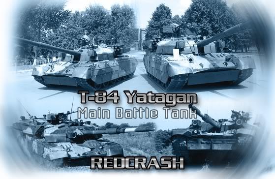 دبابة القتال الرئيسية T-80 الروسية T-84Yatagan