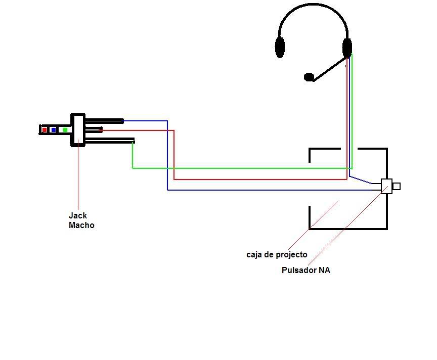 Headset para Radio Esquemadearmado
