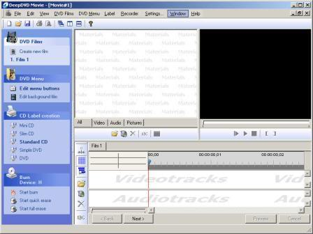 برنامج Deep DVD Movie 1.0.1.73 DeepDVDMovie1017