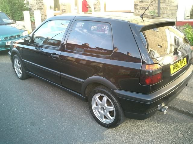 Just joined.. Me and my car :P GolfGTI013