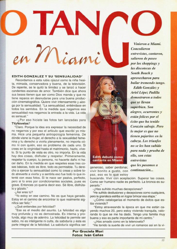 1994-04. [ SCAN ] Edith y Ariel Lopez Padilla: El último tango en Miami Edith30b
