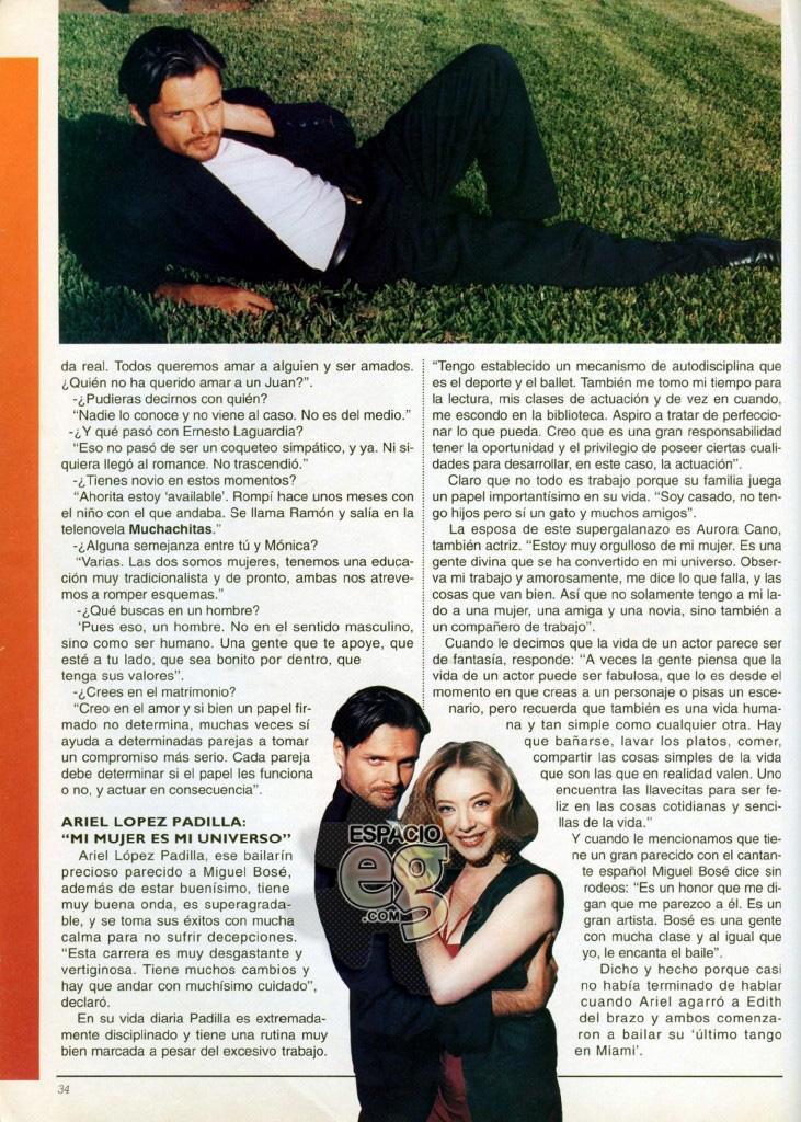1994-04. [ SCAN ] Edith y Ariel Lopez Padilla: El último tango en Miami Edith30c