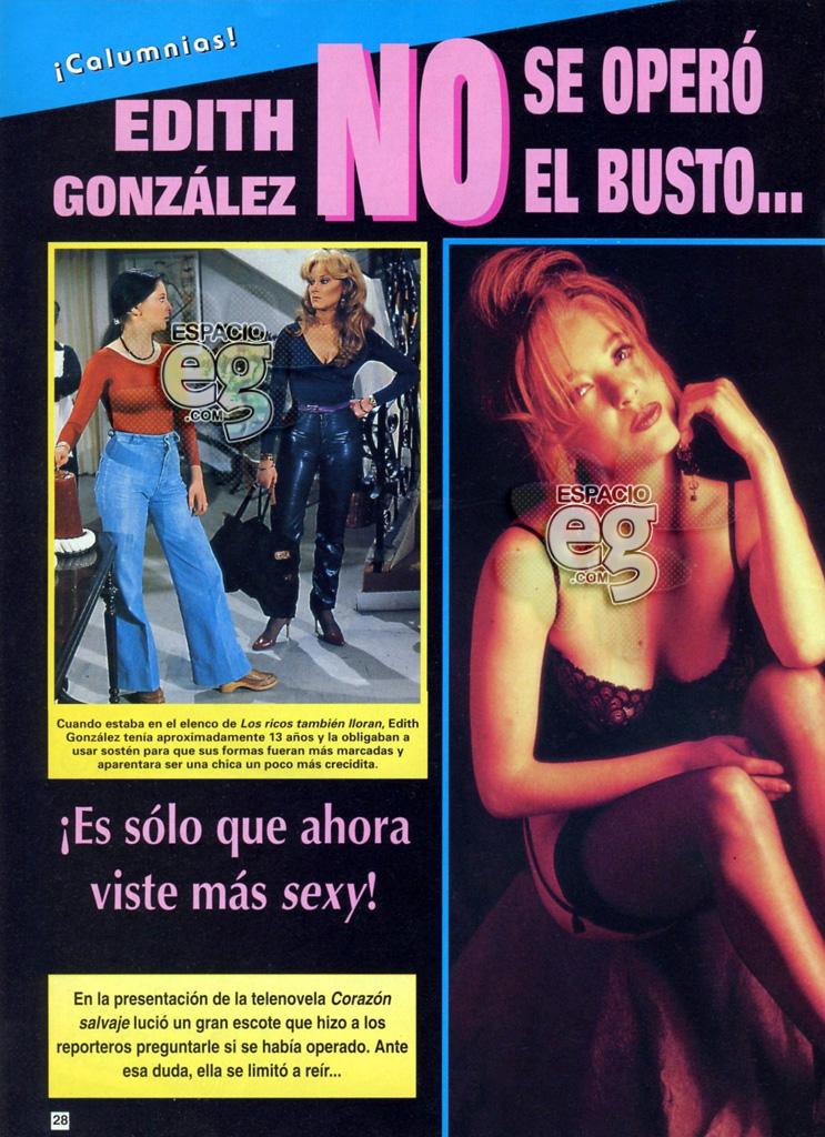 1993-08. [ SCAN ] ¡No me operé el busto! Edith54a