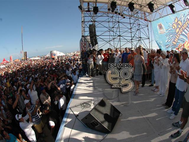 2008-03-23. [ FOTOS & NOTAS ] Es Edith 'Reina del Mar' Espacio105