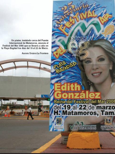 2008-03-23. [ FOTOS & NOTAS ] Es Edith 'Reina del Mar' Espacio107