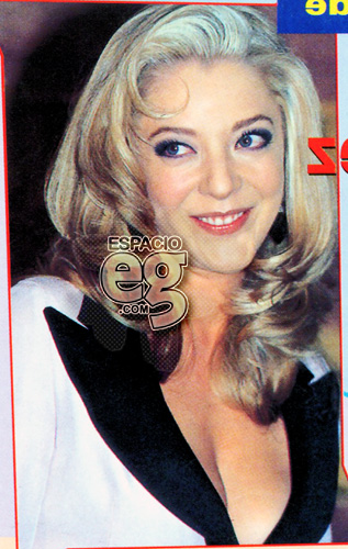 1997-05-02. [ NOTA ] Edith González más atrevida que nunca Espacio109
