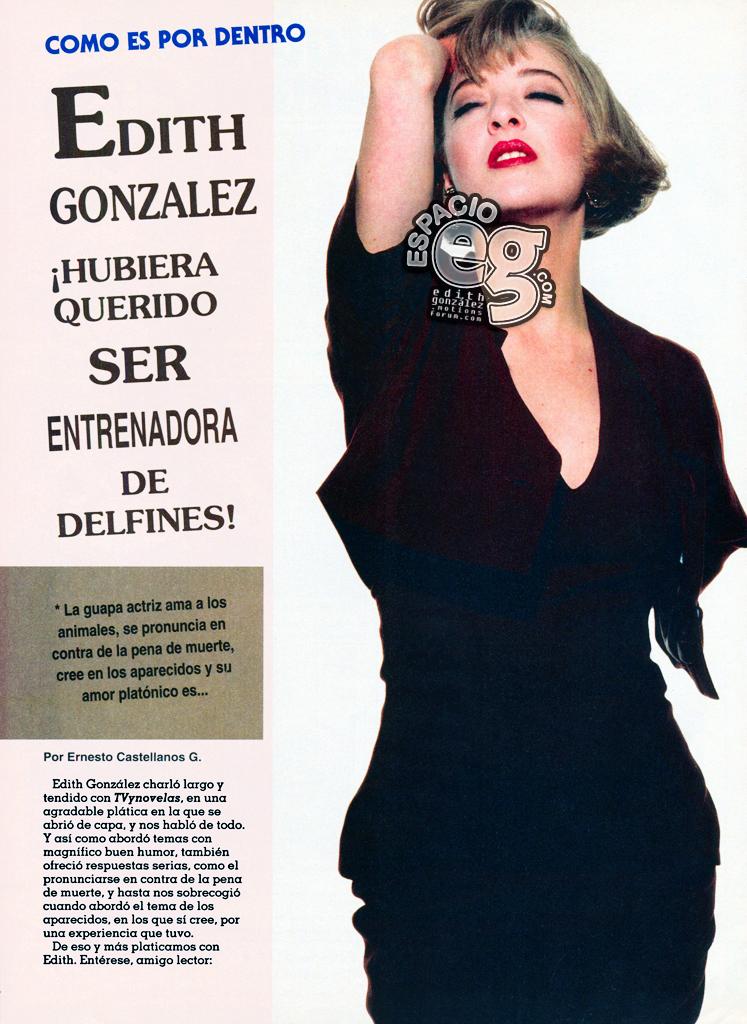 Tag gustos en Espacio EG - Edith González Nov1992