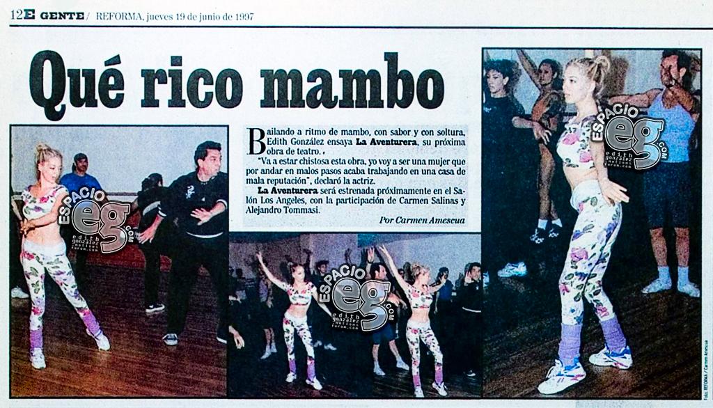 Tag baile en Espacio EG - Edith González Aventurera
