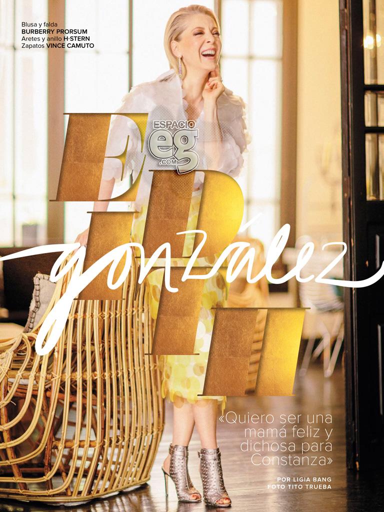 """2015-05. [ SCANS ] """"Quiero una vida con significado"""" (Revista Fernanda) Edith41"""