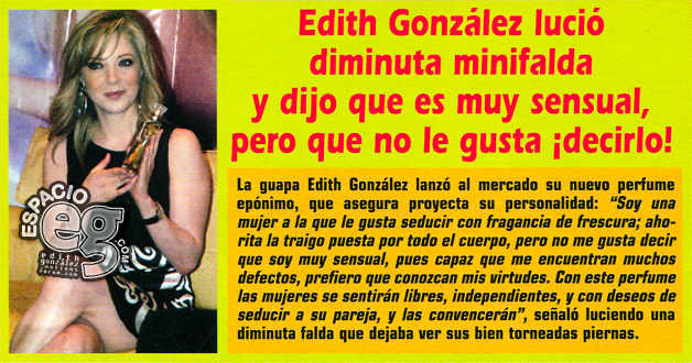 Tag constanza en Espacio EG - Edith González EdithPerf2
