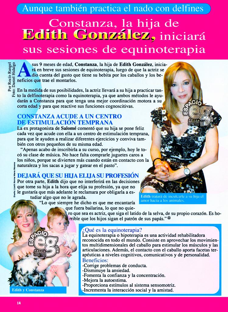 Tag bebe en Espacio EG - Edith González Equinoterapia