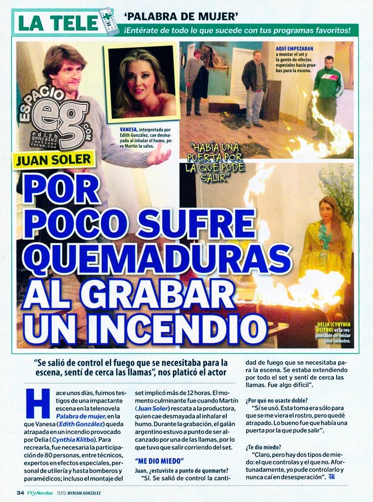 Tag grabaciones en Espacio EG - Edith González LaTelePDM2