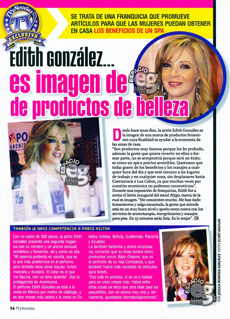 Tag campaña en Espacio EG - Edith González M2GO