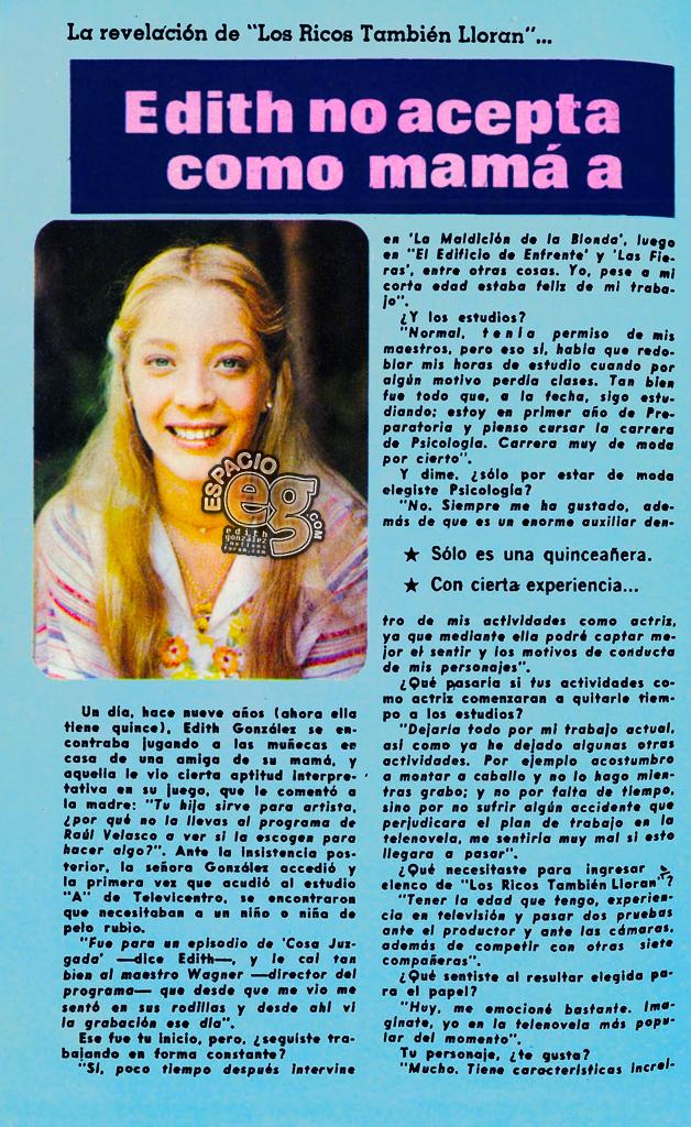 Tag losricostambiénlloran en Espacio EG - Edith González Marisabel