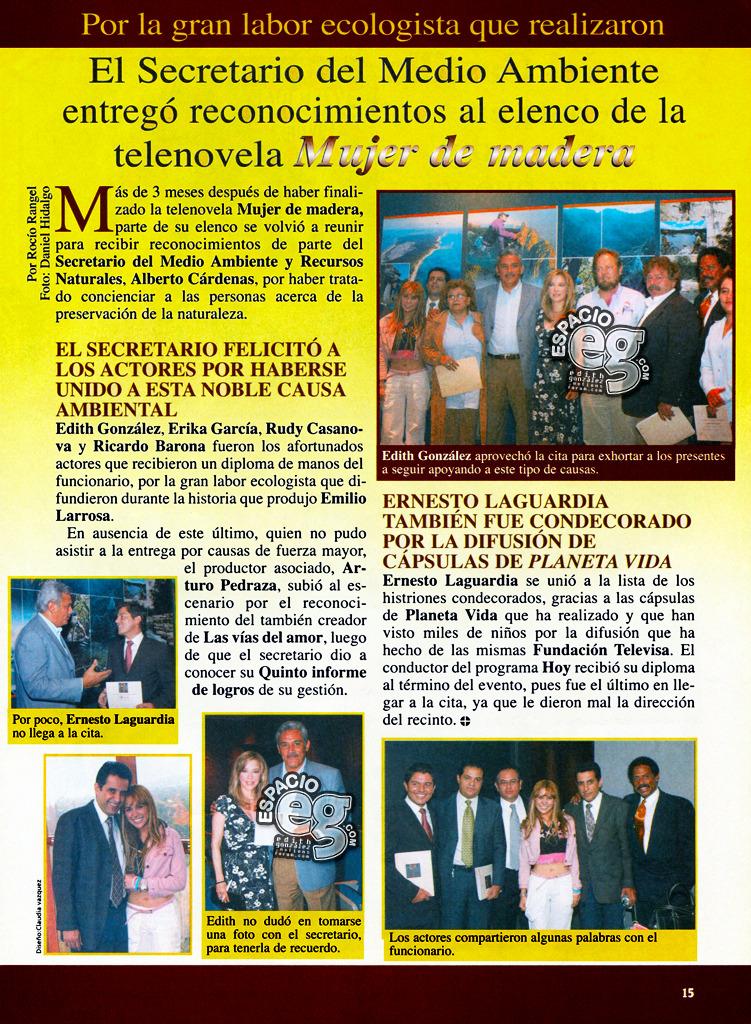 Tag mujerdemadera en Espacio EG - Edith González MedioAmbiente