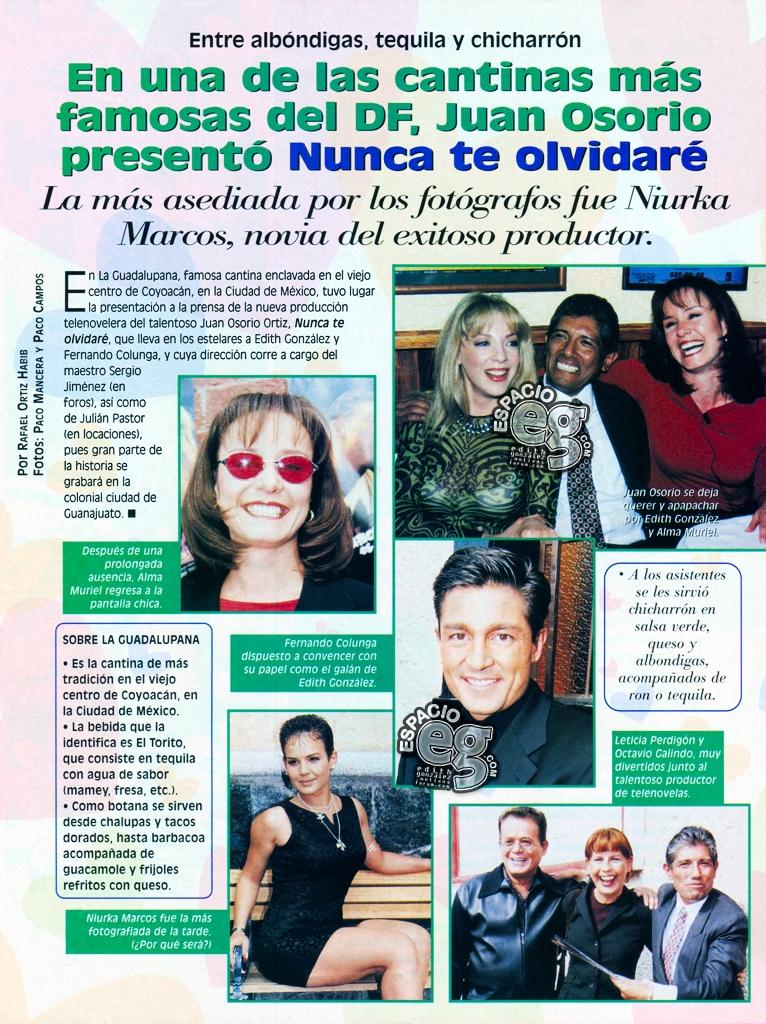 Tag juanosorio en Espacio EG - Edith González NTOPrest