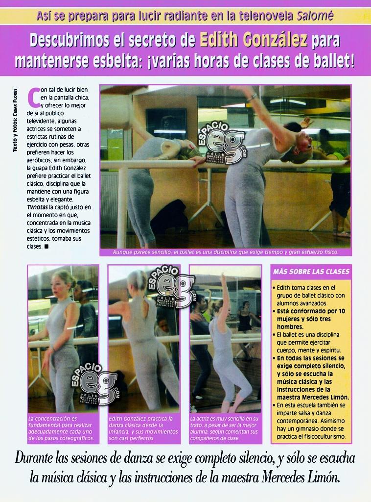 2001. [ SCAN ] Edith González se mantiene esbelta con el baile SCAN%20JUL%204043c