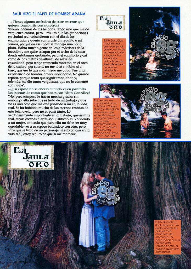1997-06-19. [ SCAN ] Saúl Lizaso y las escenas eróticas de 'La Jaula de Oro' Saul2