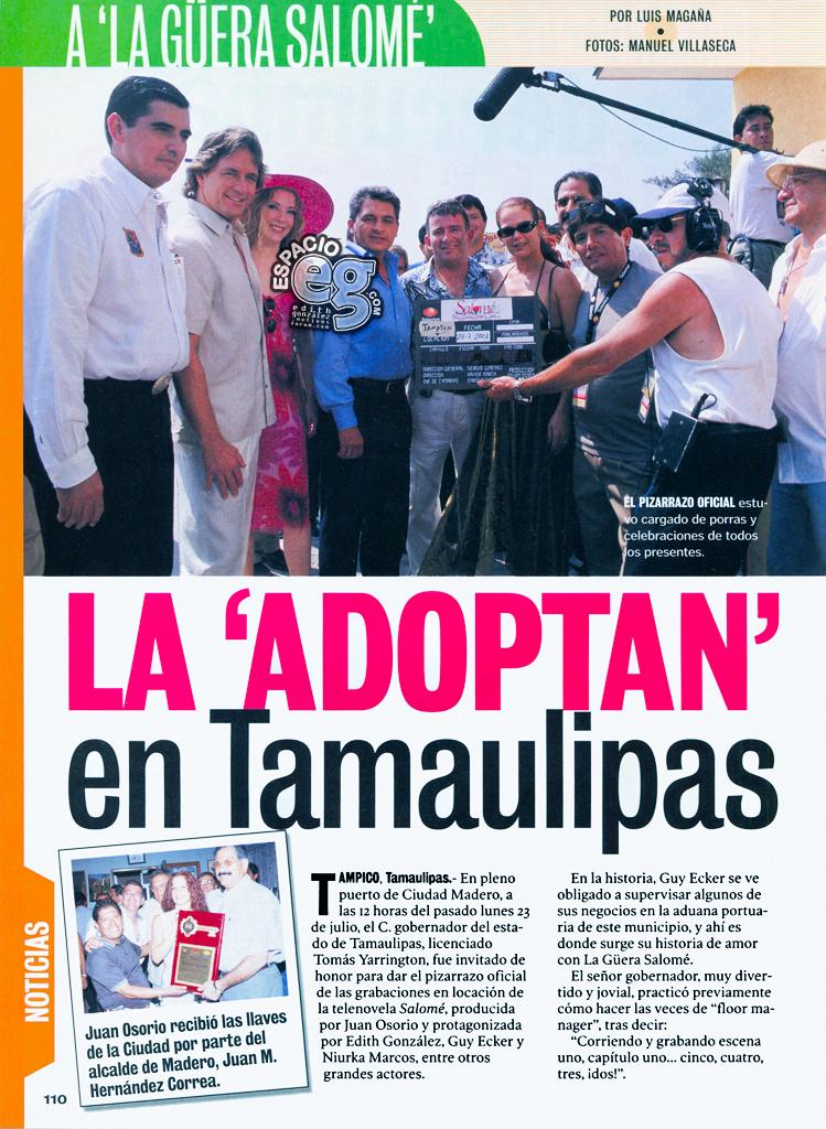 Tag salomé en Espacio EG - Edith González Tamaulipas