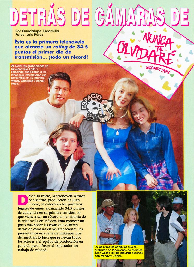 Tag nuncateolvidaré en Espacio EG - Edith González Unforgettable1