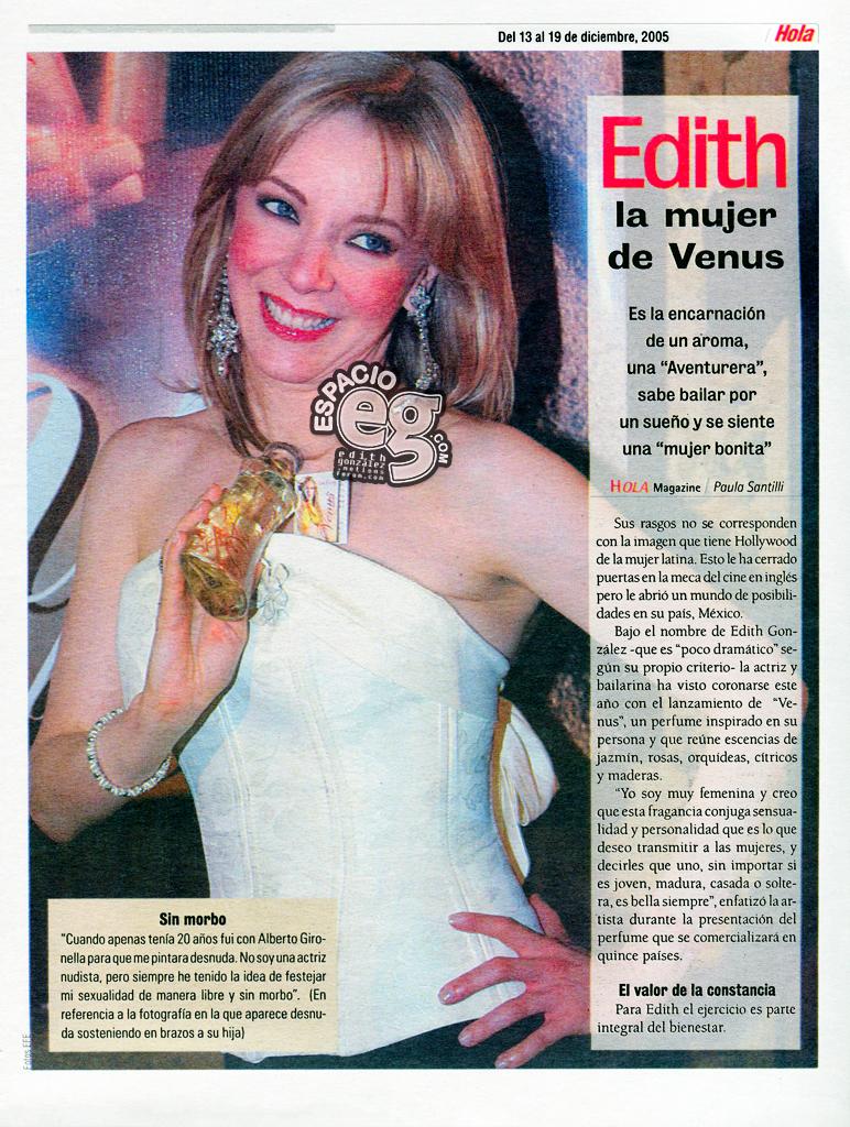 Tag venus en Espacio EG - Edith González Venus4