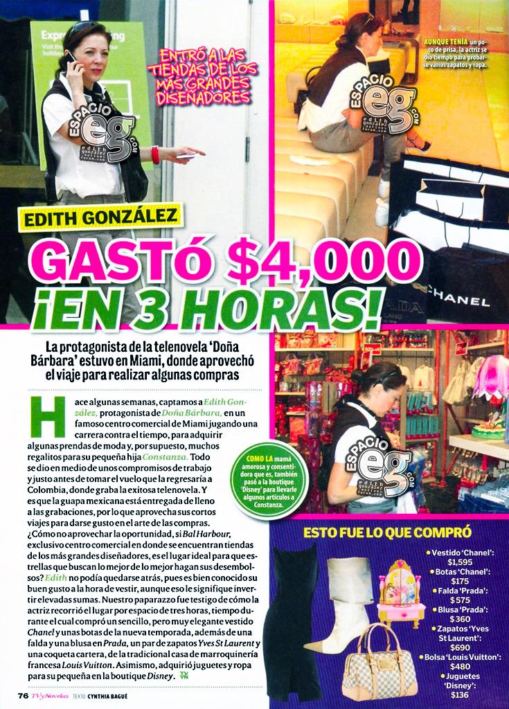 Tag doñabárbara en Espacio EG - Edith González Compras