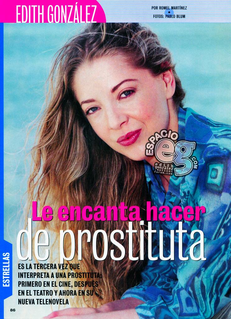 2001-03-20. [ NOTA & SCAN ] Edith González vende cremas en la TV de EU Cremas1