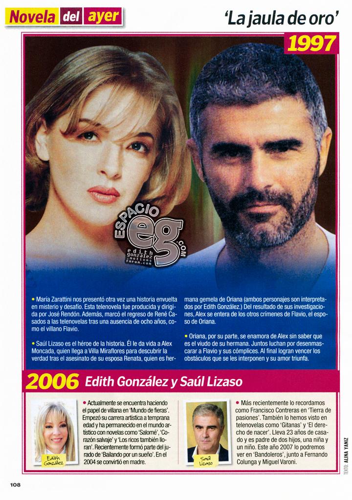 LaJauladeOro - 2006. [ SCAN ] Novela del ayer: 'La jaula de oro' Ljdo2006