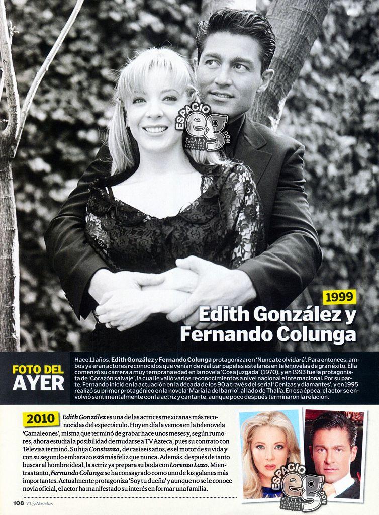 Tag nuncateolvidaré en Espacio EG - Edith González Nto