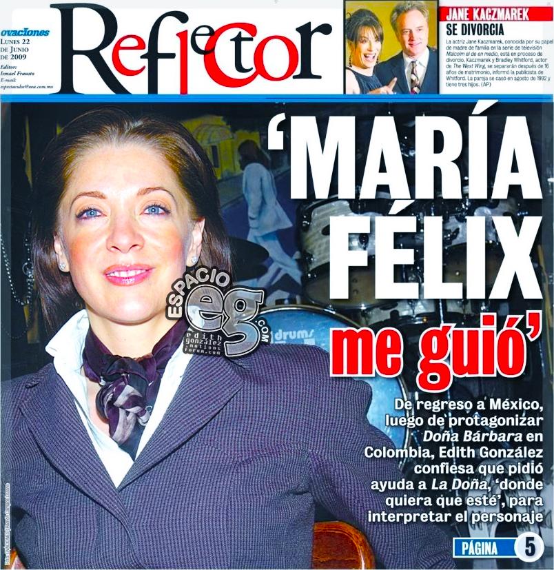 """2009-06-22. [ SCAN ] """"Fue osada hacer Doña Bárbara"""" Periodico3a"""