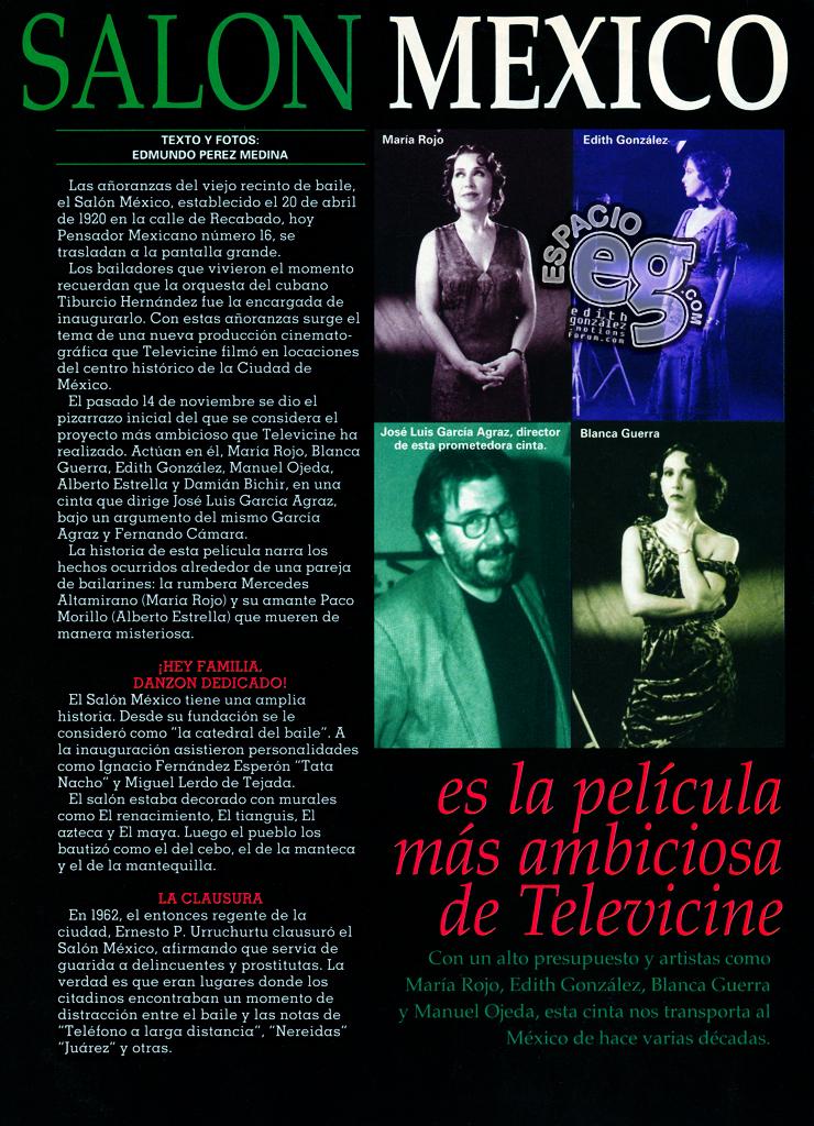 Tag cine en Espacio EG - Edith González Salonmexico2