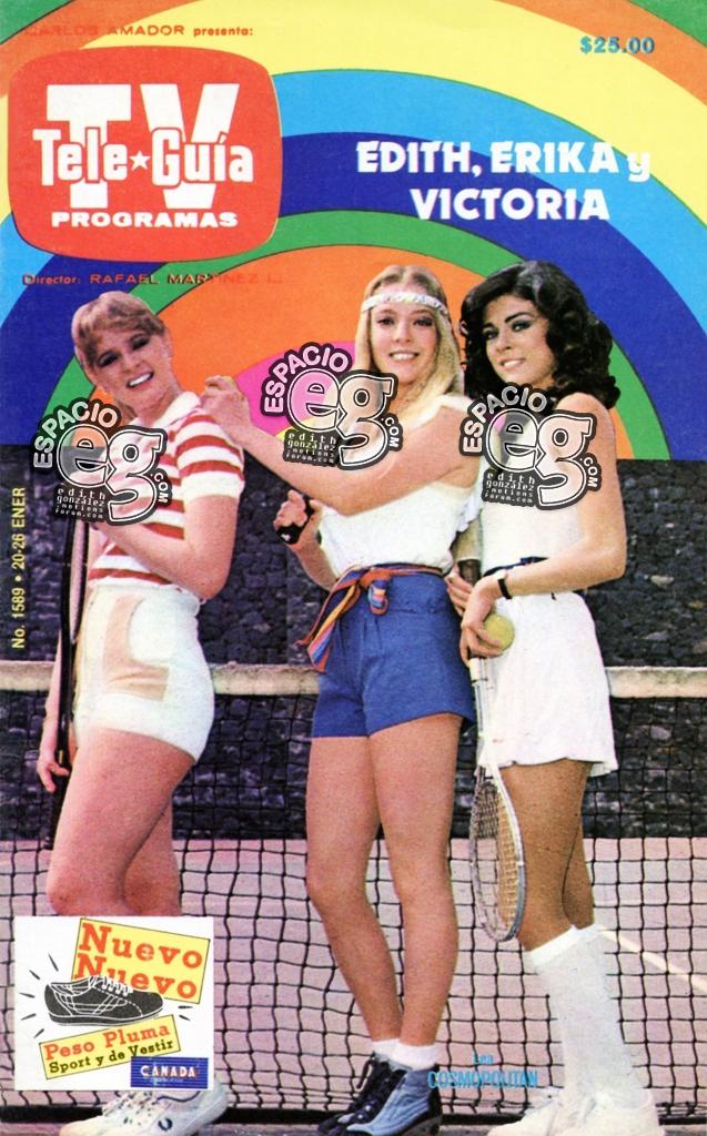 1983-01-20. [ SCANS ] Tres campeonas: Edith, Erika y Vicky Teveguia1