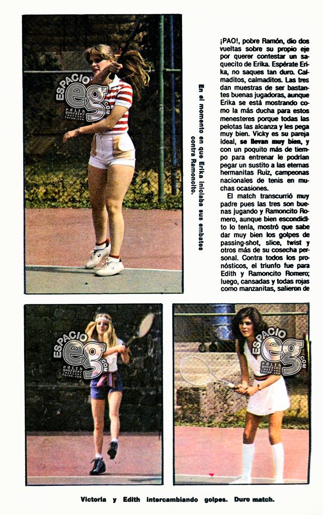 1983-01-20. [ SCANS ] Tres campeonas: Edith, Erika y Vicky Teveguia3