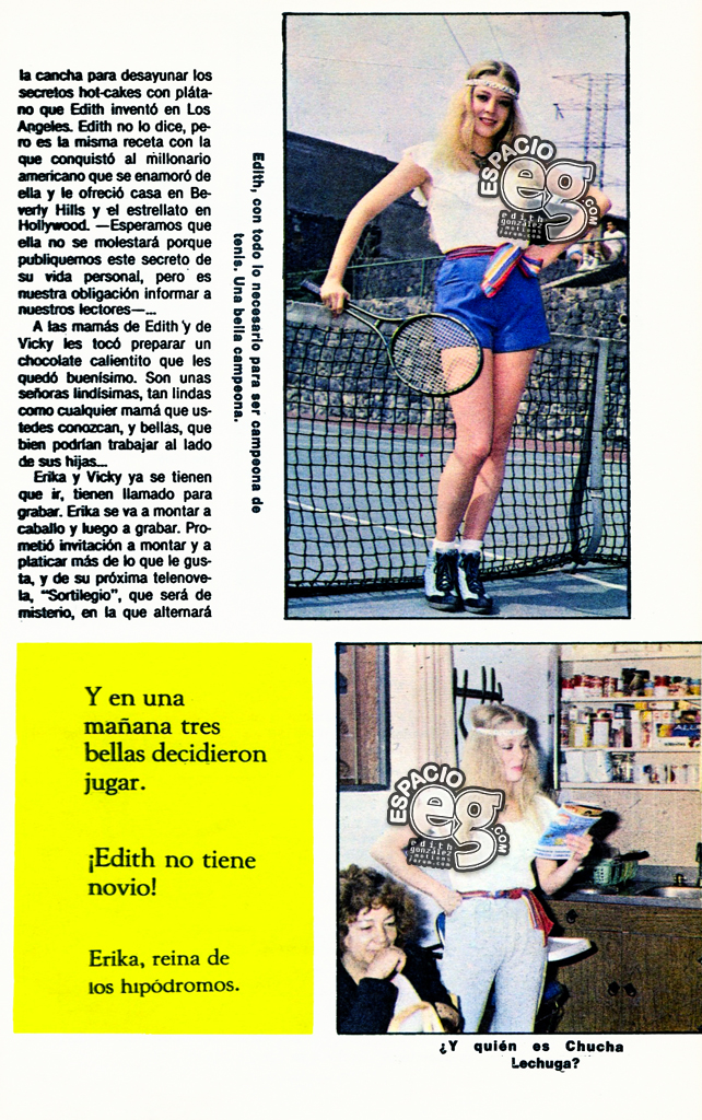 1983-01-20. [ SCANS ] Tres campeonas: Edith, Erika y Vicky Teveguia4