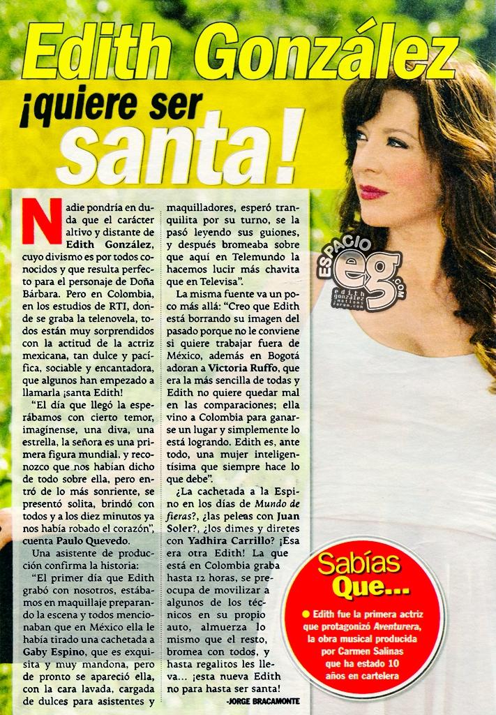 2008-08-5. [ NOTA & SCAN ] Edith González los encanto a todos Db18e