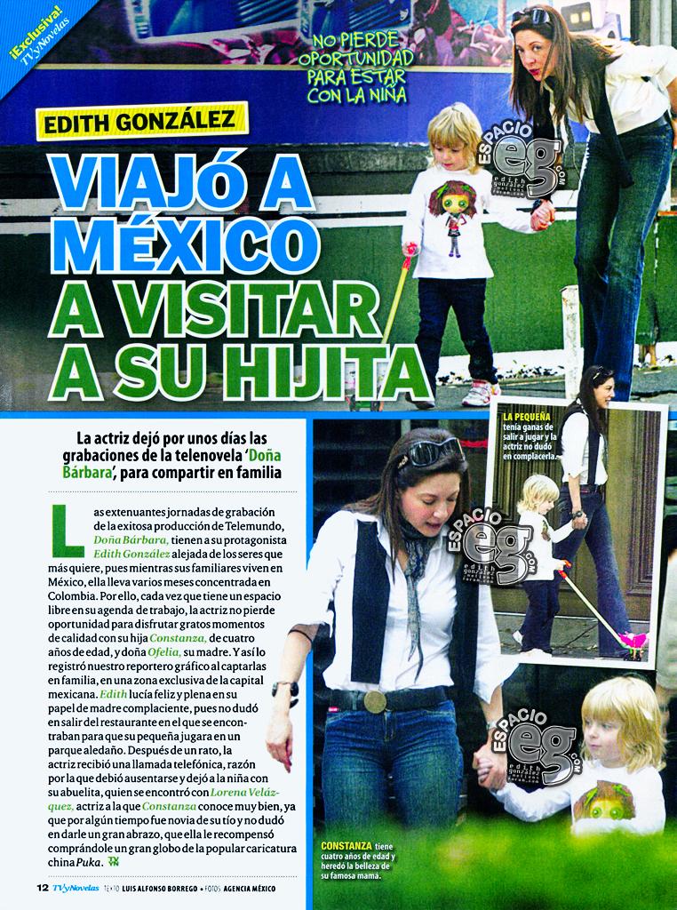 2008-11-18. [ SCANS & VIDEO ] Edith González se reencuentra con Constanza en México Scan2-1